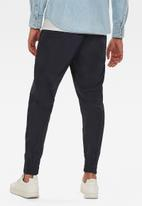 G-Star RAW - 3D relaxed fit cuffed trainer pants - navy