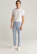 MANGO - Tony trousers - blue