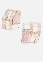 POP CANDY - Girls printed socks - pink & neutral