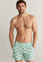 MANGO - Moto swimming trunks - blue