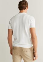 MANGO - Bob polo shirt - natural