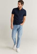 MANGO - Lore polo shirt - navy