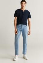 MANGO - Julian T-shirt - navy