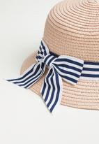 POP CANDY - Girls straw hat - beige