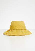POP CANDY - Girls bow hat - yellow