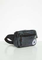 Converse - Glitter waist pack - black