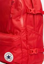 Converse - Converse straight edge backpack - red