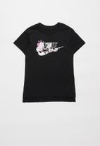 Nike - Girls Nike sportswear tee iconclash dptl - black