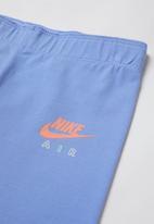 Nike - Girls Nike air favorites legging - blue