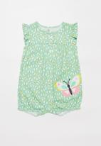 POP CANDY - Girls butterfly playsuit - multi