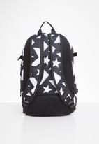Converse - Converse straight edge backpack - black & white