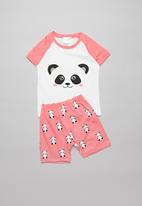 POP CANDY - Girls panda pyjama set - multi
