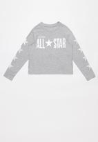 Converse - Converse All Star cropped boxy - grey