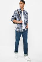 Ben Sherman - Check shirt - blue