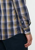 Ben Sherman - Check ls shirt - navy