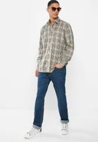 Ben Sherman - Check long sleeve shirt - yellow