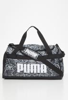 PUMA - Puma challenger duffel bag - black & grey