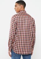 Ben Sherman - Check long sleeve shirt - orange