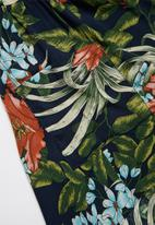 Superbalist - Printed woven dress - navy