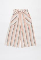 Superbalist - Woven striped culottes - multi