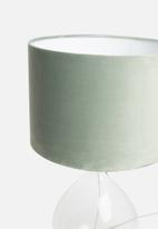 Sixth Floor - Airy table lamp - charcoal