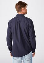 Cotton On - Brunswick shirt 3 - navy  oxford