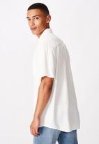 Cotton On - 91 short sleeve shirt - white