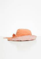 POP CANDY - Girls bow hat - orange