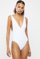 BeachCult - Helena one piece - white