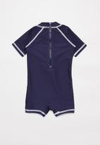 POP CANDY - Baby boys printed swimsuit - blue