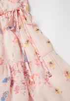 Superbalist Kids - Girls floral wrap dress - pink
