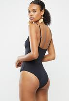 BeachCult - Bella one piece - black
