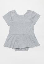 POP CANDY - Girls dress romper - grey