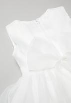 POP CANDY - Girls bow dress - white