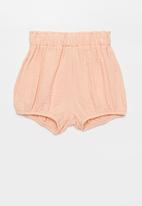POP CANDY - Girls elastic waist shorts - pink