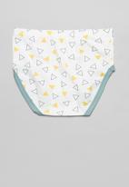 POP CANDY - Boys 3 pack underwear set - blue & white