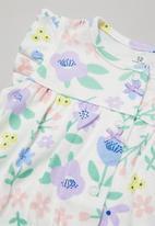 POP CANDY - Girls flower print playsuit - multi