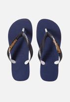 Havaianas - Kids top mix flip flops - navy blue/black
