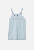 Free by Cotton On - Willow dress - blue