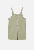 Free by Cotton On - Willow dress - silver sage