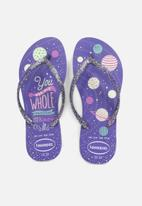 Havaianas - Kids slim fashion - purple
