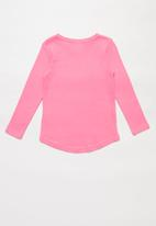 POP CANDY - Minnie Mouse hi low tee - pink