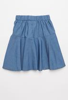 POP CANDY - Girls flare skirt - blue