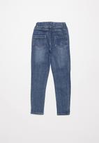 POP CANDY - Girls elasticated jean - blue