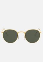 Ray-Ban - Round metal sunglasses 50mm - legend gold & green