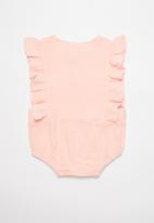 POP CANDY - Frill paysuit - pink