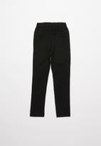 POP CANDY - Girls elasticated pant - black