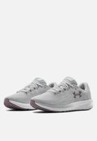 Under Armour - Ua w charged pursuit 2 - halo gray / white / slate purple