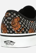 Vans - Authentic - (tiger floral) black/true white