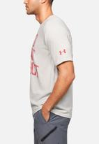 Under Armour - Project rock bsr short sleeve tee - white